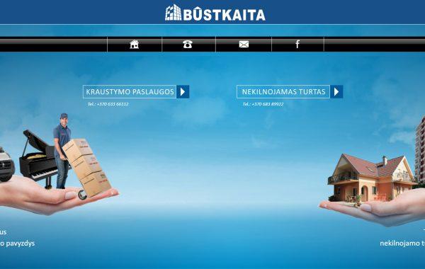 BUSTKAITA.LT Internetinės svetainės kūrimas