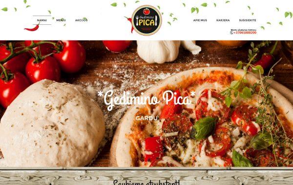 Gediminopica Internetinės svetainės kūrimas