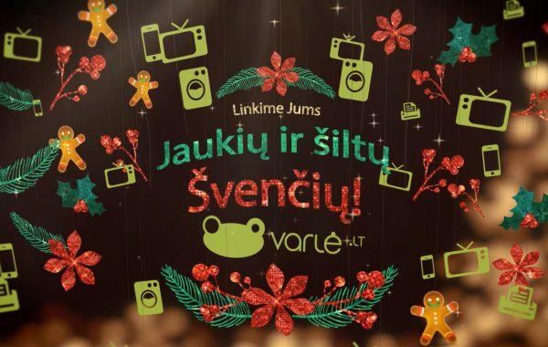 VARLĖ.LT Kalėdinė video reklama