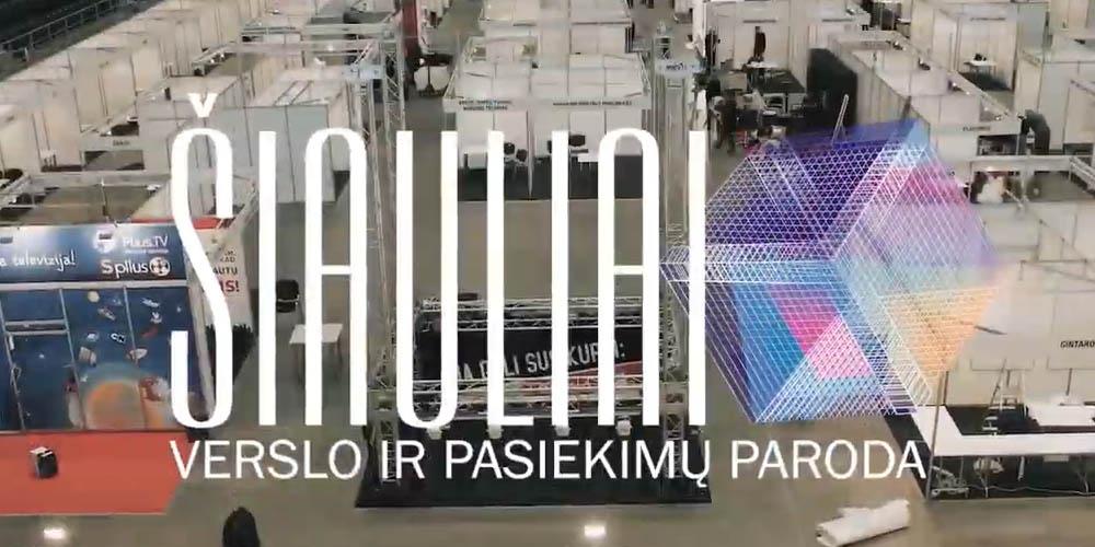 Verslo ir pasiekimų paroda Šiauliai 2018