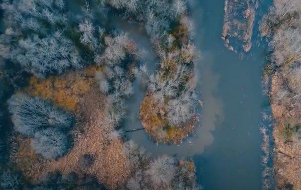 Upė Venta - reprezentacinio klipo kūrimas